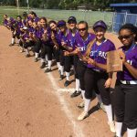 Omaha Central High School Varsity Softball beat Omaha Northwest 12-0