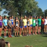 Omaha Central High School Girls Varsity Cross Country All Levels finishes 6th place