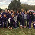 Omaha Central High School Girls Varsity Cross Country All Levels finishes 3rd place