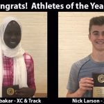 Congrats to Athletes of the Year and Spring Season