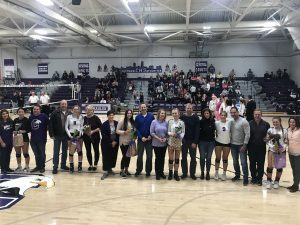 Volleyball Senior Night 2018