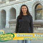 Savanna Vacek – Runza Student of the Week