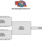 Girls District Basketball 2/19