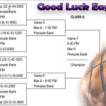 Boys State Basketball – Good Luck Eagles