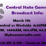 State Basketball – Radio Broadcast