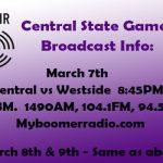 State Basketball – Radio Broadcast