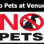 No Pets Allowed – at Athletic Contests