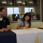 Congrats Abbey Craig signs with CSM