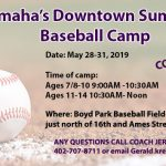 Free Summer Baseball Camp