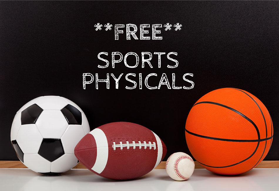 FREE Physicals Sat July 20th!!!