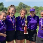 Girls Varsity Golf finishes 1st place at Invitational @ Omaha Northwest High School