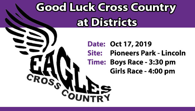 Central Cross Country Good Luck at Districts
