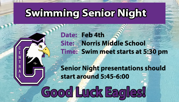 Swimming Senior Night