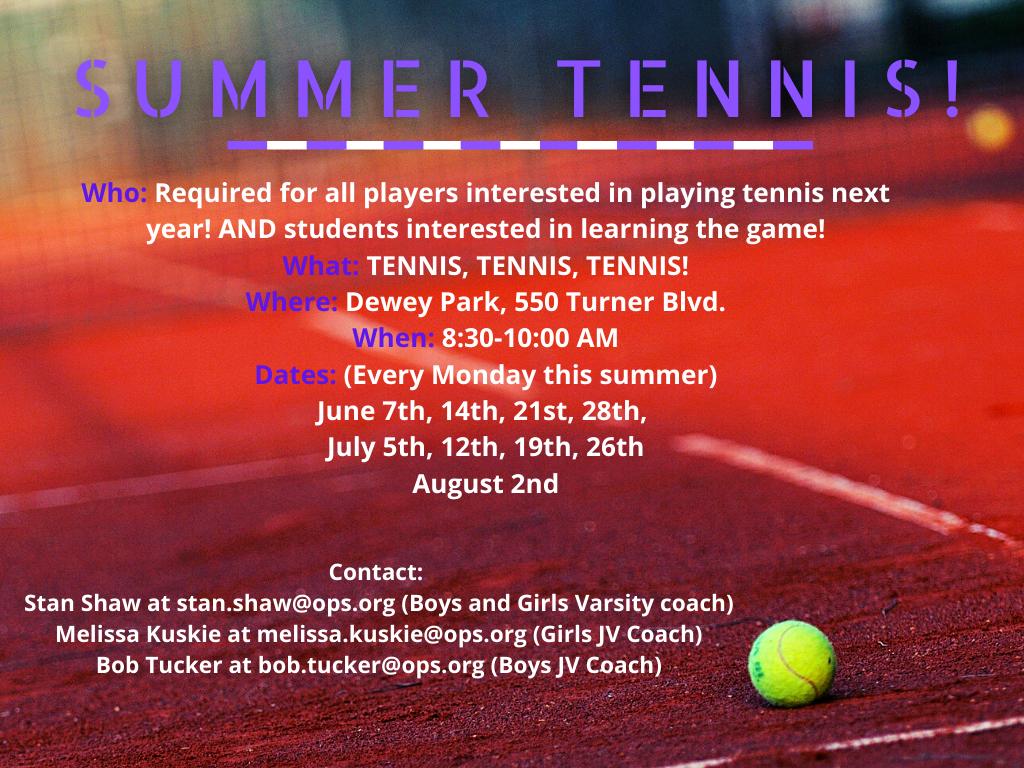 Summer Tennis!