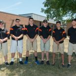 Boys golf compete in CCC preview