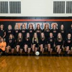 Ansonia High School Girls Junior Varsity Volleyball beat Houston Schools 2-0