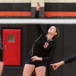 Ansonia High School Girls Junior Varsity Volleyball beat Union City Community High School 2-1