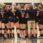 Ansonia High School Girls Varsity Volleyball beat Union City Community High School 3-1
