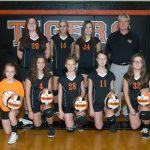 Ansonia Girls 8th Grade Volleyball falls to Tri-County North High School 2-0