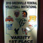 Ansonia High School Girls Varsity Volleyball beat Newton High School 2-1