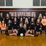 Ansonia High School Girls Varsity Volleyball beat Troy Christian High School 3-0