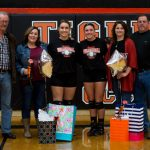 Ansonia High School Girls Varsity Volleyball beat National Trail High School 3-0