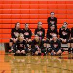 Ansonia High School Girls Junior Varsity Volleyball beat National Trail High School 2-0