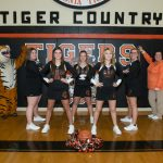 Ansonia Cheerleaders Hosting a Pink Out for Friday's Varsity Boys Basketball Game vs. Trail