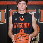 Ansonia High School Boys Varsity Basketball beat Newton High School 65-63