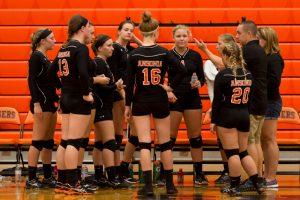 High School Volleyball vs. Milton Union