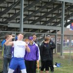 Boys Track Compete at Johnston Meet