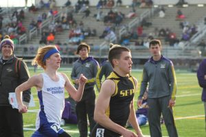 Boys Track @ Johnston