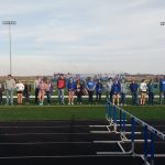 Senior Night Girls Track!