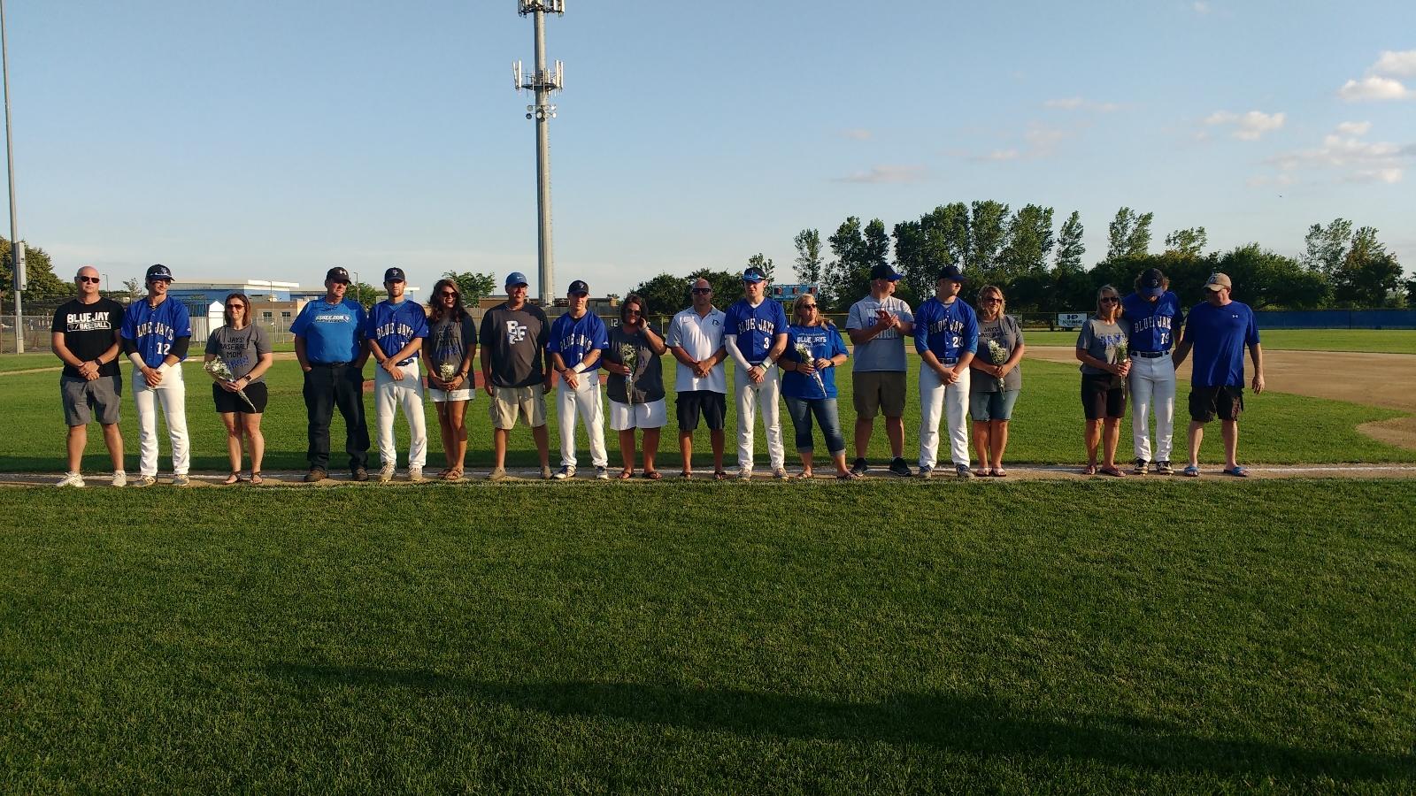 Baseball Senior Night!