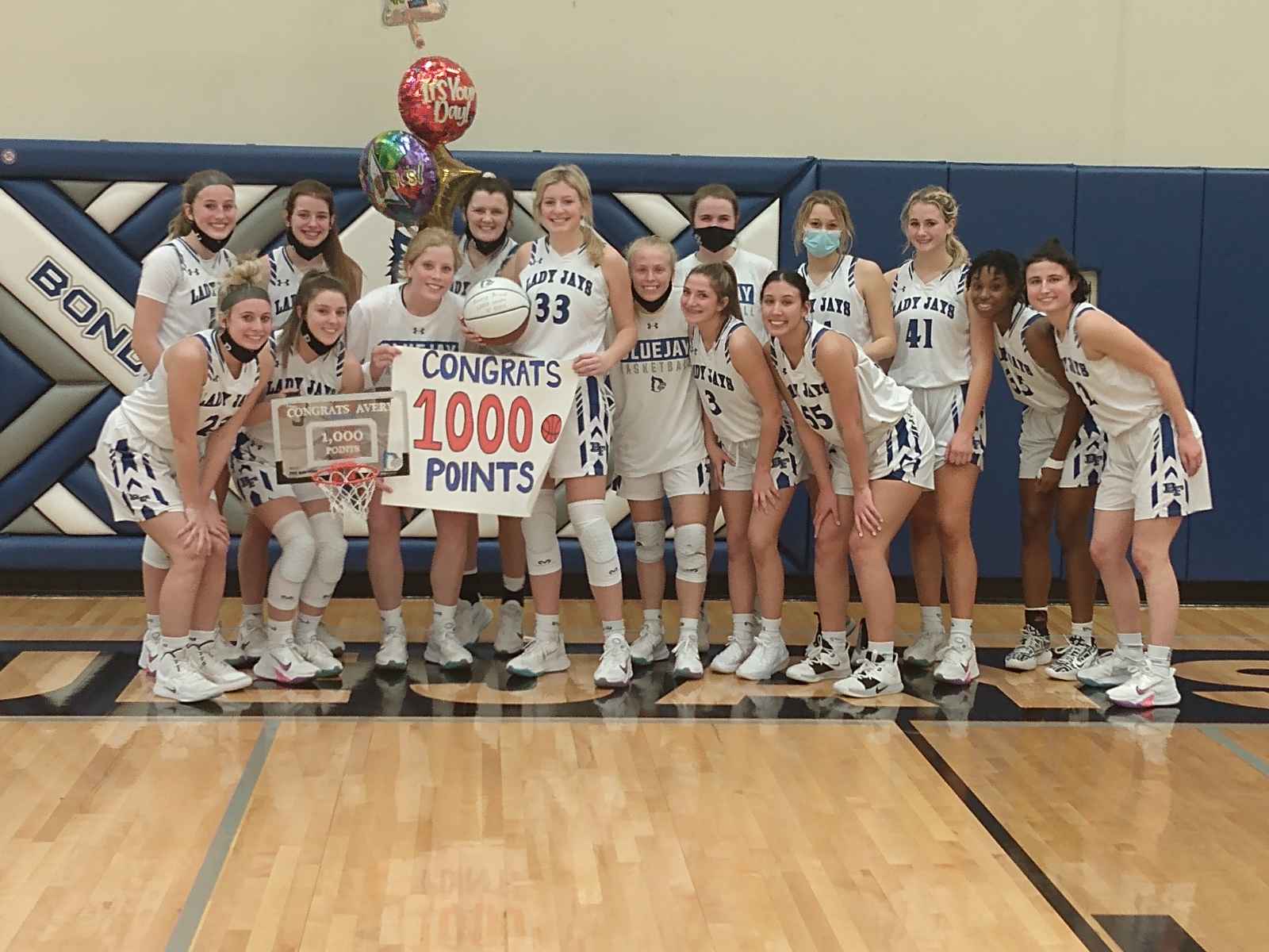 1000th Career Point