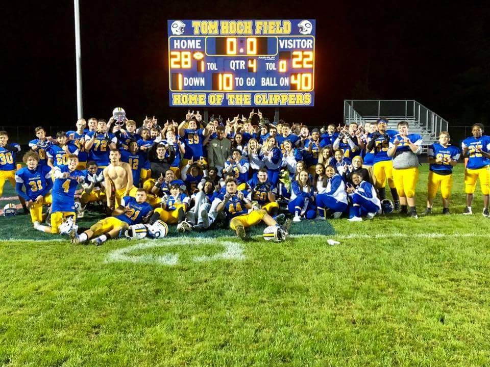 Varsity Football:  Clippers Knock Off Columbia in Battle of PAC Stripes Contenders