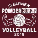 PowderBuff Volleyball