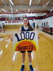 Brooke Rebman 1000 points