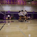 Girls Volleyball knocked out of the CCS play-offs w/ hard fought loss.