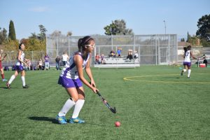 V. Field Hockey v. Cupertino -Photos courtesy of El Estoque