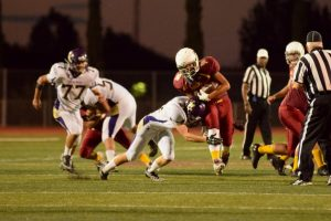 V. Football v. Cupertino -Photos courtesy of El Estoque