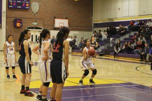 Varsity Girls Basketball v. Lynbrook – Photos courtesy of El Estoque