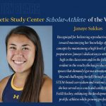 Congratulations to MV Field Hockey and Softball Alum, Janaye Sakkas!
