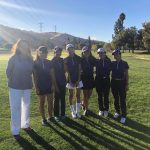 Girls Varsity Golf at SCVAL Championships
