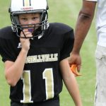 Russellville Middle School Football beat Todd County Middle School 26-0