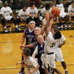 Russellville Boys Middle School Basketball beat Chandlers Elementary School 57-17