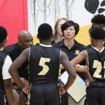 Russellville Boys Middle School Basketball beat Auburn Elementary School 46-33