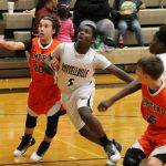 Russellville Boys Middle School Basketball beat Olmstead Elementary School 47-15