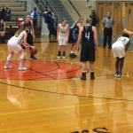 Russellville High School Girls Varsity Basketball beat Butler County High School 54-51