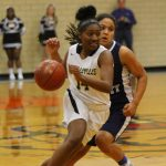 Russellville High School Girls Varsity Basketball beat Warren East High School 64-59